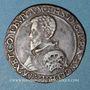 Monnaies Comté de Bourgogne. Saulnerie de Salins. Philippe II (1556-1598). Jeton cuivre 1567