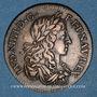 Monnaies Conseil du Roi. Louis XIV (1643-1715). Jeton cuivre n. d.