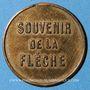 Monnaies Cordier. Grande loterie à 5 cmes. Jeton publicitaire en bronze