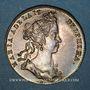 Monnaies Dauphiné. Marie Adelaïde de Savoie. Jeton argent 1712