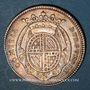 Monnaies Etats de Bourgogne. Jeton argent 1728