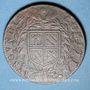 Monnaies Etats de Bourgogne. Jeton cuivre 1636