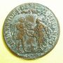 Monnaies Etats de Bourgogne. Jeton cuivre 1653
