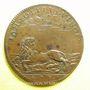 Monnaies Etats de Bourgogne. Jeton cuivre 1674