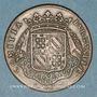 Monnaies Etats de Bourgogne. Jeton cuivre 1698