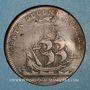 Monnaies Etats de Bourgogne. Jeton cuivre 1707