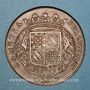 Monnaies Etats de Bourgogne. Jeton cuivre 1713