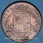 Monnaies Etats de Bourgogne. Jeton cuivre 1715