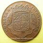 Monnaies Etats de Bourgogne. Nicolas Labotte, trésorier de France, vicomte, maire de Dijon. Jeton cuivre