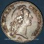 Monnaies Etats de Bretagne. Louis XV. Jeton argent 1740