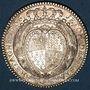 Monnaies Etats de Bretagne. Louis XV. Jeton argent 1756