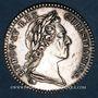 Monnaies Etats de Bretagne. Louis XV. Jeton argent 1770
