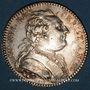 Monnaies Etats de Bretagne. Louis XV. Jeton argent 1782