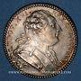 Monnaies Etats de Bretagne. Louis XVI. Jeton argent 1784