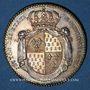 Monnaies Etats de Bretagne. Louis XVI. Jeton argent 1786