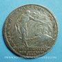 Monnaies Extraordinaire des Guerres. Louis XV. Jeton argent 1740