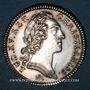Monnaies Extraordinaire des Guerres. Louis XV. Jeton argent 1748