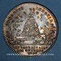 Monnaies Extraordinaire des Guerres. Louis XVI. Jeton argent 1778