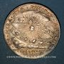 Monnaies Flandre. Etats de Lille. Jeton argent 1677