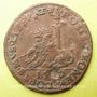 Monnaies Flandre. Philippe II (1555-1598). Jeton cuivre 1580