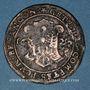 Monnaies Franche-Comté. Besançon. Chambre des comptes. Ferdinand II. Jeton cuivre 1627