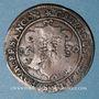 Monnaies Franche-Comté. Besançon. Chambre des comptes. Ferdinand II. Jeton cuivre 1630