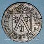 Monnaies Franche-Comté - Besançon. Co-gouverneurs. Charles Adolphe Louis Guillemin. Jeton cuivre 1667