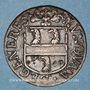 Monnaies Franche-Comté-Besançon. Co-gouverneurs - Jean-Claude Cabet, seigneur de Geneville. Jeton cuivre 1665