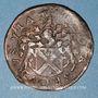 Monnaies Franche-Comté - Besançon. Co-gouverneurs. Jean-Jacques Chifflet de la Palante. Jeton cuivre 1667