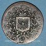 Monnaies Franche-Comté - Besançon. Jeton de bannière de Saint-Quentin, 1623