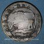 Monnaies Franche-Comté - Besançon. Louis XIV. Prise de Besançon. Jeton cuivre 1674
