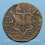 Monnaies Franche-Comté. Louis de Rye de Balançon, abbé de Saint-Claude, évêque de Genève. Jeton cuivre 1547