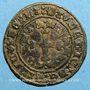 Monnaies Franche-Comté. Saulnerie de Salins. Jeton bronze, 16 e siècle