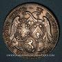 Monnaies Hainaut. Ville de Valenciennes. Jeton argent 1726