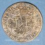 Monnaies Henri II (1547-1559) et Diane de Poitiers. Jeton cuivre n. d.