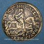 Monnaies Henri IV (1589-1610). Jeton n. d. laiton (fabrique allemande)