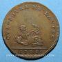 Monnaies Jeton de morale. 1700. Cuivre