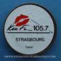 Monnaies Kiss FM. 105.7. Publicité sur pièce de 10 francs