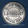 Monnaies L. Girard & Cie. Elixir Perle. Absinthe Perle. Jeton publicitaire