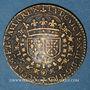 Monnaies Louis XIII (1610-1643). Jeton cuivre 1629