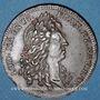 Monnaies Louis XIV (1643-1715). Jeton cuivre n. d.