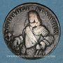 Monnaies Louis XIV (1643-1715). Jeton cuivre