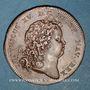 Monnaies Louis XIV et Louis XV. Jeton cuivre