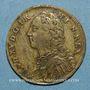 Monnaies Louis XV (1715-1774). Jeton laiton n. d.