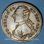 Monnaies Louis XVI (1774-1793). Jeton laiton n. d.