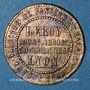 Monnaies Lyon (69). Fabrique de Paniers et Balais en tous genres, Leroy..., Jeton publicitaire
