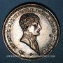 Monnaies Lyon. Agents de change. Jeton argent 1803. Refrappe