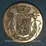 Monnaies Lyon. Conseil Municipal. Jeton argent 1838. Poinçon : lampe antique