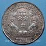 Monnaies Lyon. Municipalité. M. Rast. Jeton argent 1776