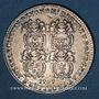 Monnaies Lyon. Série Municipale. B. Cachet de Montesan. Jeton argent 1707